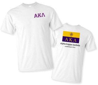 Alpha Kappa Lambda Flag T-Shirt
