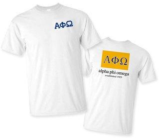 Alpha Phi Omega Flag T-Shirt