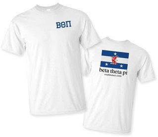 Beta Theta Pi Flag T-Shirt