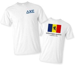 Delta Kappa Epsilon Flag T-Shirt