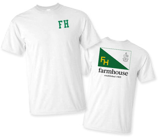 FarmHouse Fraternity Flag T-Shirt