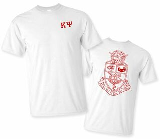 Kappa Psi World Famous Crest - Shield Tee