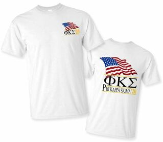 Phi Kappa Sigma Patriot Limited Edition Tee