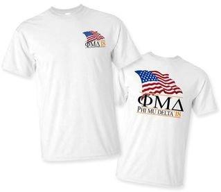 Phi Mu Delta Patriot Limited Edition Tee- $15!