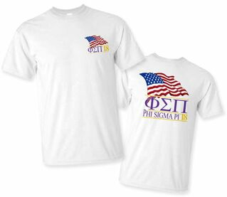 Phi Sigma Pi Patriot Limited Edition Tee- $15!