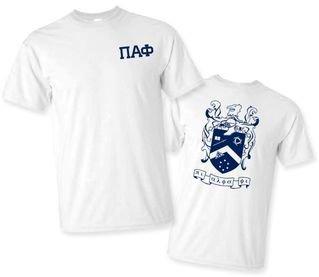 Pi Alpha Phi World Famous Crest - Shield Tee