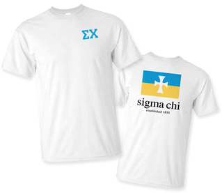 Sigma Chi Flag T-Shirt