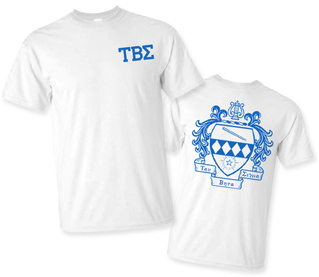 Tau Beta Sigma World Famous Crest - Shield Tee