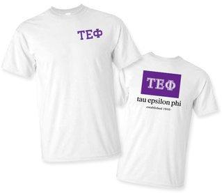 Tau Epsilon Phi Flag T-Shirt