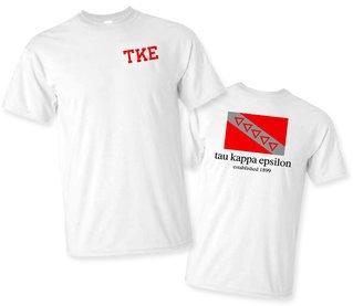 Tau Kappa Epsilon Flag T-Shirt