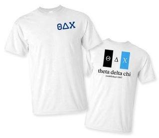 Theta Delta Chi Flag T-Shirt
