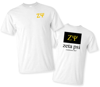 Zeta Psi Flag T-Shirt