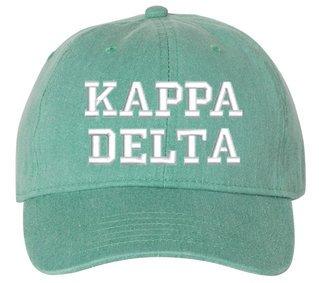 Kappa Delta Pigment Dyed Baseball Cap