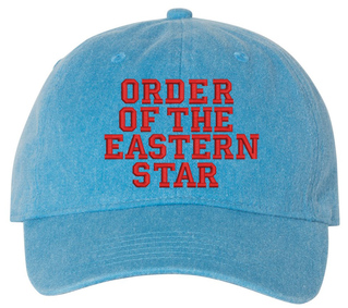 OES Pigment Dyed Baseball Cap