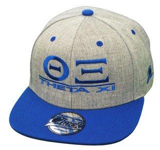 Theta Xi Flatbill Snapback Hats Original