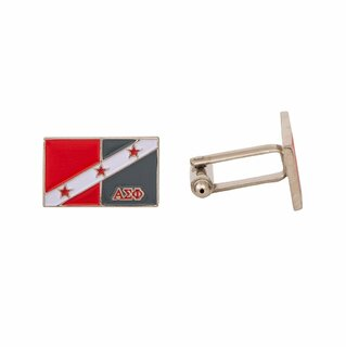 Alpha Sigma Phi Rectangle Cuff Links