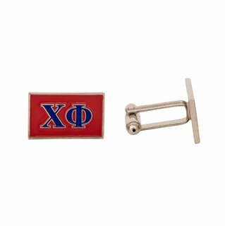 Chi Phi Rectangle Cuff Links