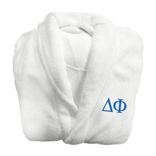 Delta Phi Fraternity Lettered Bathrobe