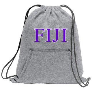 FIJI Fleece Sweatshirt Cinch Pack