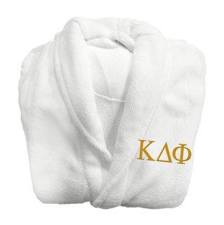 Kappa Delta Phi Fraternity Lettered Bathrobe