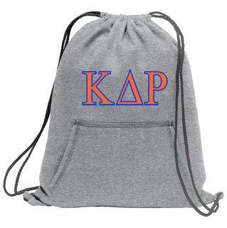 Kappa Delta Rho Fleece Sweatshirt Cinch Pack