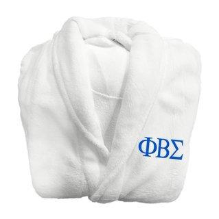 Phi Beta Sigma Fraternity Lettered Bathrobe