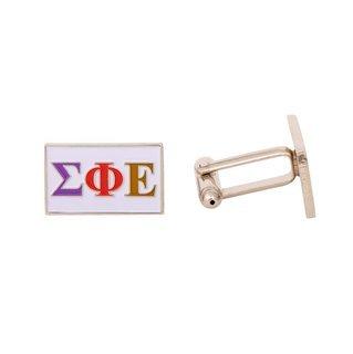 Sigma Phi Epsilon Rectangle Cuff Links