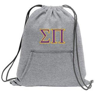 Sigma Pi Fleece Sweatshirt Cinch Pack