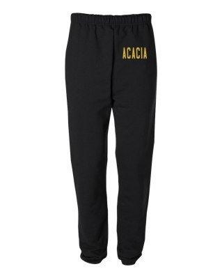ACACIA Greek Lettered Thigh Sweatpants