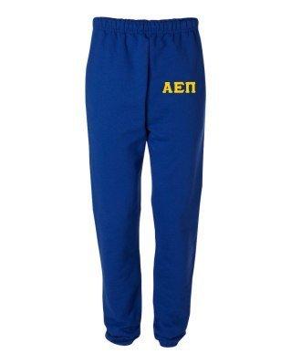 Alpha Epsilon Pi Greek Lettered Thigh Sweatpants