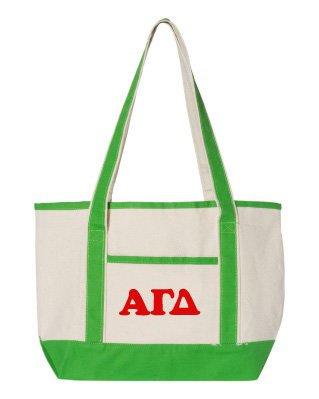 Alpha Gamma Delta Sailing Tote Bag