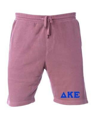 Delta Kappa Epsilon Pigment-Dyed Fleece Shorts
