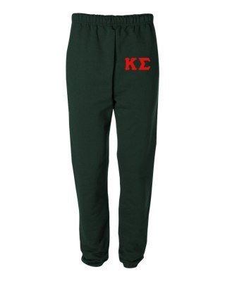 Kappa Sigma Greek Lettered Thigh Sweatpants