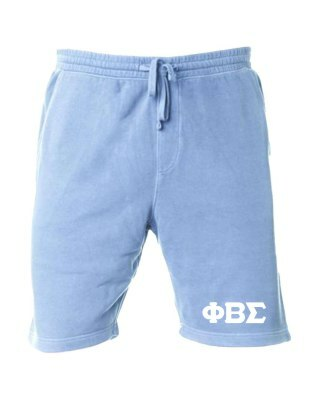 Phi Beta Sigma Pigment-Dyed Fleece Shorts
