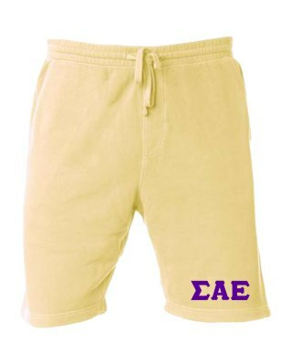 Sigma Alpha Epsilon Pigment-Dyed Fleece Shorts
