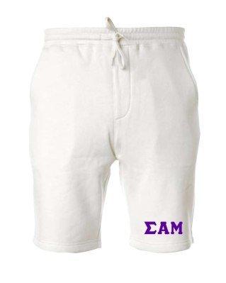 Sigma Alpha Mu Pigment-Dyed Fleece Shorts