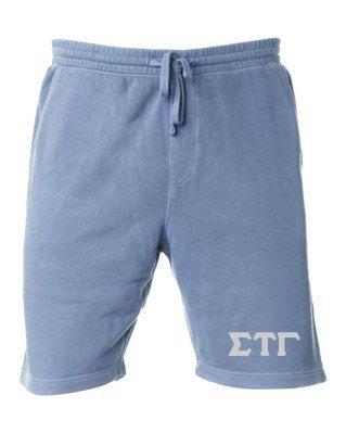 Sigma Tau Gamma Pigment-Dyed Fleece Shorts