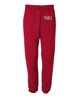 Triangle Greek Lettered Thigh Sweatpants