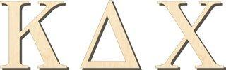 Kappa Delta Chi Big Wooden Greek Letters