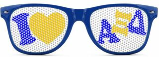 Alpha Xi Delta Wayfarer Style Lens Sunglasses