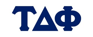 Tau Delta Phi Big Greek Letter Window Sticker Decal