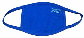 Kappa Kappa Gamma Applique Face Masks