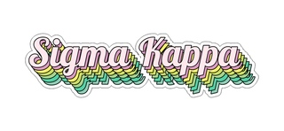 Sigma Kappa Step Decal Sticker