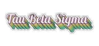 Tau Beta Sigma Step Decal Sticker