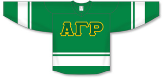Alpha Gamma Rho Breakaway Lettered Hockey Jersey