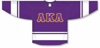 DISCOUNT-Alpha Kappa Lambda Breakaway Lettered Hockey Jersey