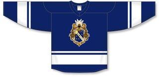 Alpha Phi Omega League Hockey Jersey