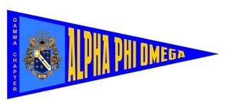 Alpha Phi Omega Wall Pennants