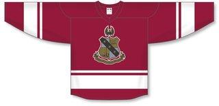 Alpha Sigma Phi League Hockey Jersey
