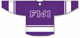 DISCOUNT-FIJI Fraternity Breakaway Lettered Hockey Jersey